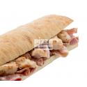 Chapata Pollo y Bacon