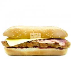 Burger BBQ Rib